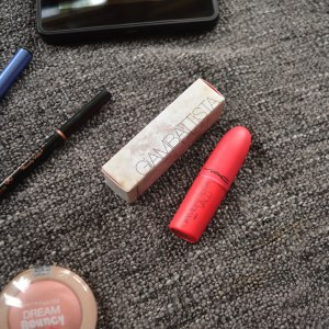 July Monthly Beauty Favourites - Mac Giambattista Valli lipstick 'Tats'