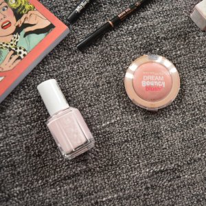 July Monthly Beauty Favourites - Maybelline Dream Bouncy Blush, essie 'Fiji' nail varnish