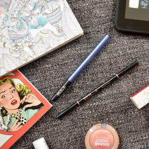 July Monthly Beauty Favourites - Anastasia Beverly Hills Brow Wiz eyebrow pencil, Kat Von D Nietzsche Ink eyeliner