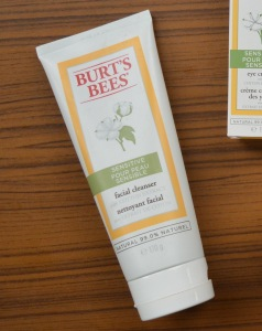 Burts Bees Sensitive Skin range