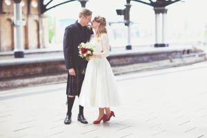 Talonted Lex Wedding Photo On Love And Photography York Train Station Wedding