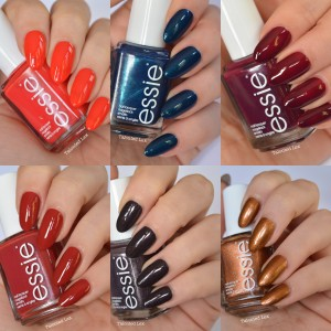 essie Fall 2015 Collection Swatches and Review