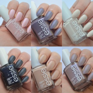 essie Cashmere Collection 2015 Review and Swatches